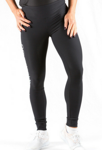 Monique High Waist Full Length Tights | Plus Size Activewear