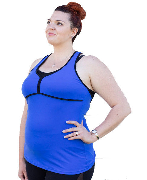Power Tank for when you need to push through | Plus Size Active and Gym Wear