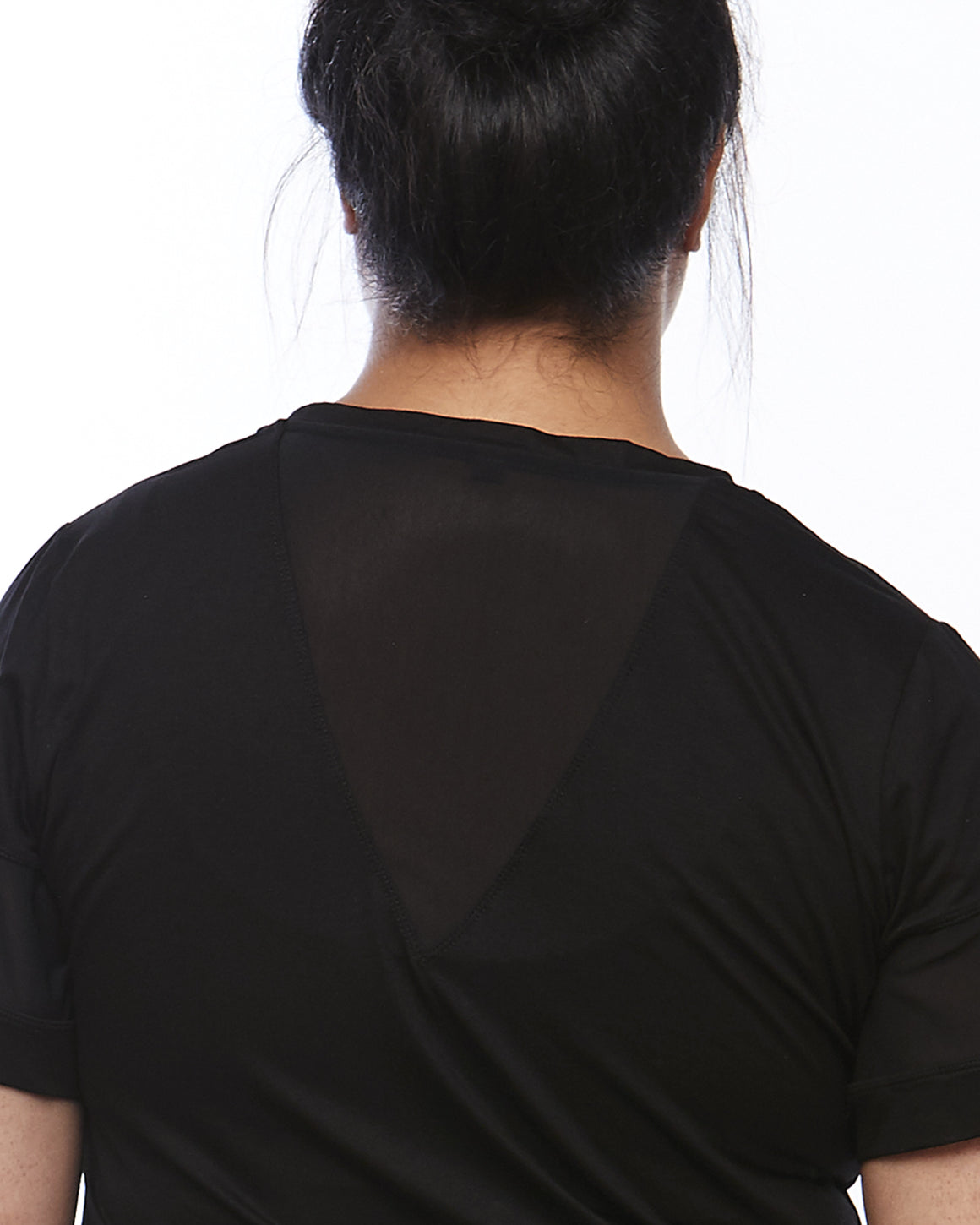Back Detail Serene Short Sleeve Sports Top