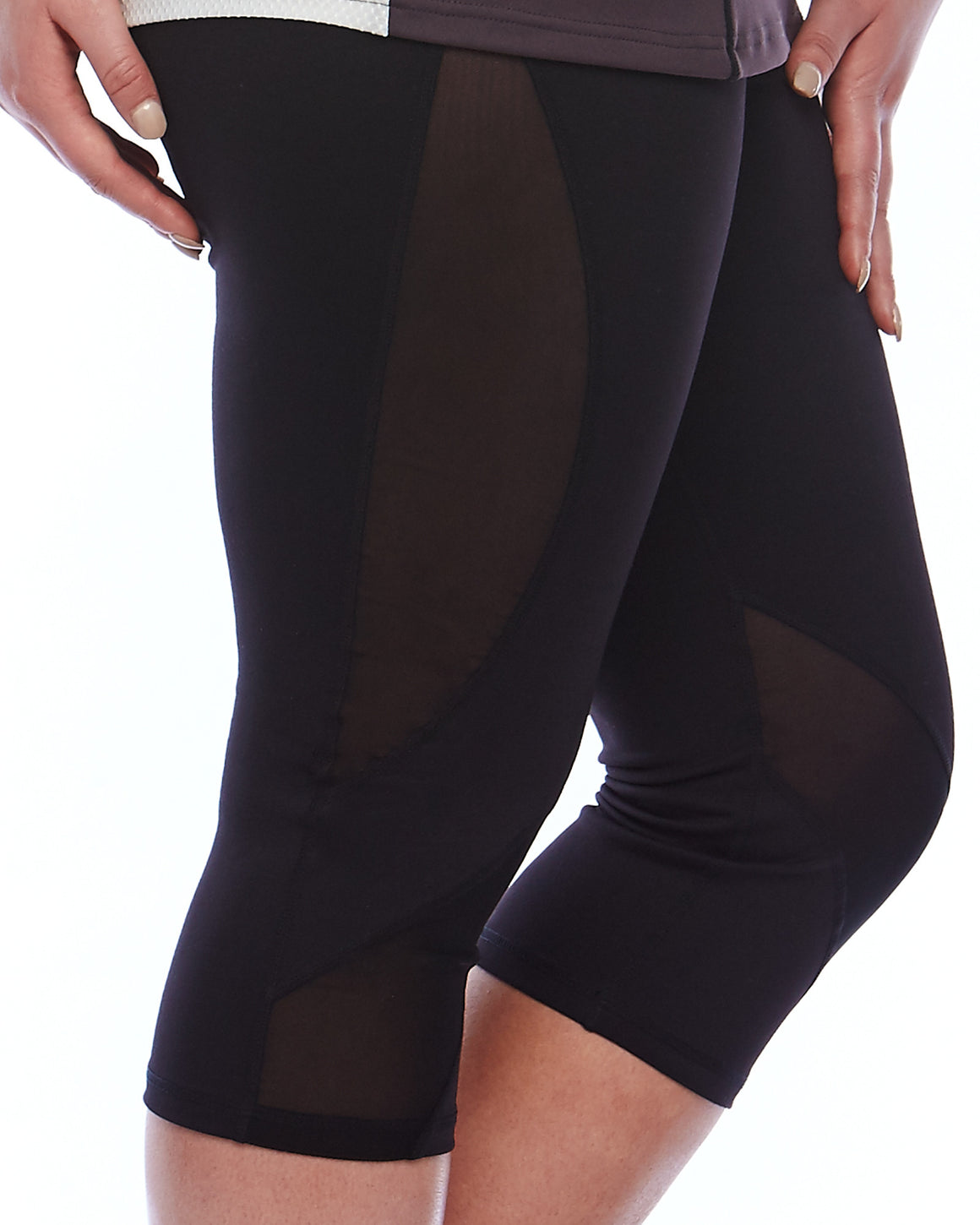 Mesh Sculpt Tights - Plus Size Activewear
