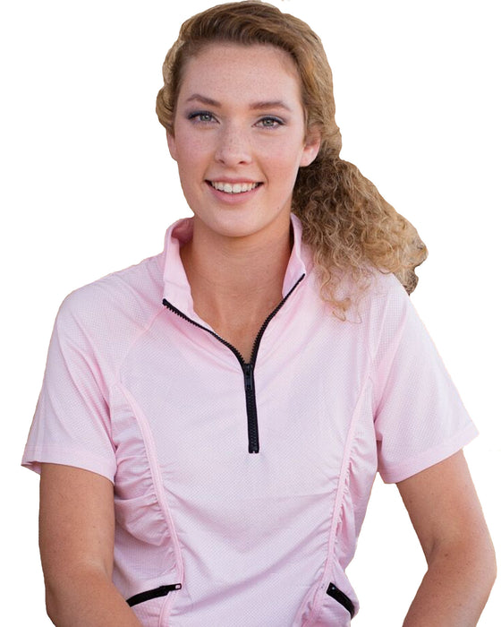 Stay Cool Short Sleeve UV30+ Sun Protection Shirt | Plus Size Sun Safe Top