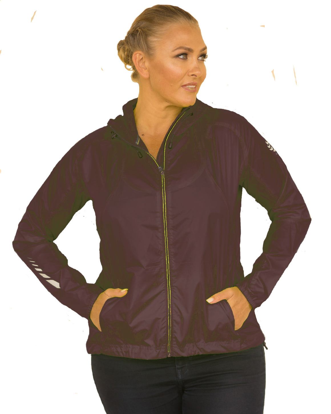 Sun Seeker Wind Rain and Sunproof Jacket | Plus Size Rain Jacket