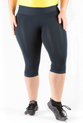 Maddie 3/4 Tights Never Look Back | Plus Size Activewear