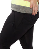 Two Tone Sculpt Tights | Plus Size Activewear