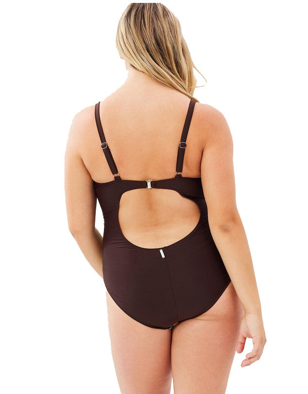 Spring One Piece Swimsuit | Plus Size Swimsuit
