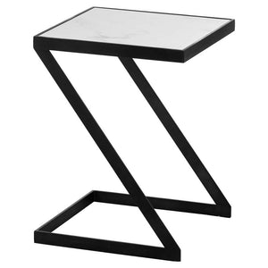 Marble Tray 'Z' Side Table