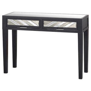 Soho Pine Console Side Table - 2 Drawer