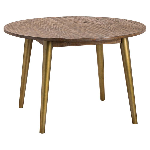 Havana Circular Gold Dining Table