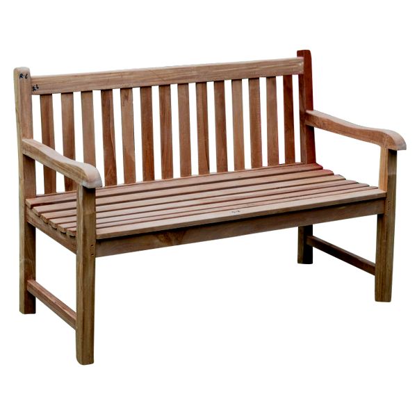 Traditional Garden Park Bench 130cm