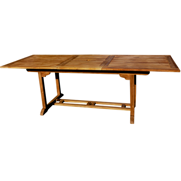 Rectangle Extending 180/240cm Garden Dining Table