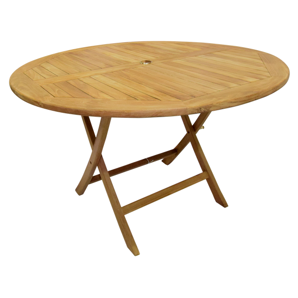 Al Fresco Round Folding 120cm Bistro Garden Table