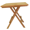 Bali Square Folding 50cm Picnic Table