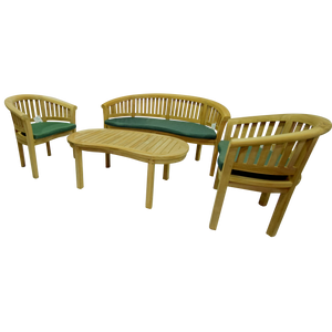 Banana Peanut Snuggle Love Complete Table Set