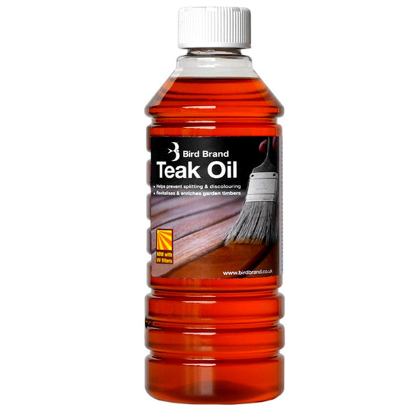 Bird Brand Teak Furniture Oil 500ml
