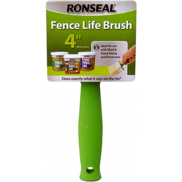 "Ronseal Wood Life 4"" Applicator Big Brush"