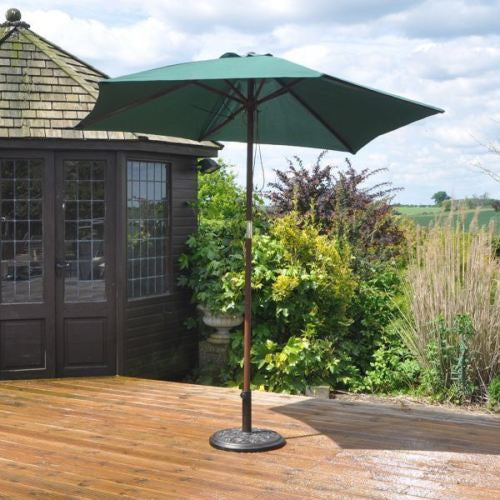 Kingfisher 2.4m Green Parasol
