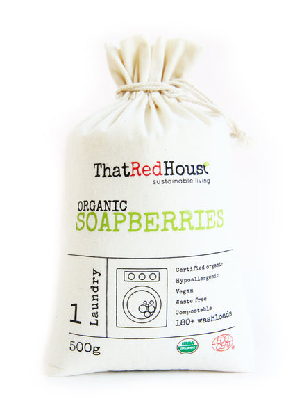That Red House Soapberries