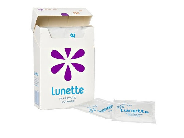Lunette Cupwipe Disinfecting Wipes