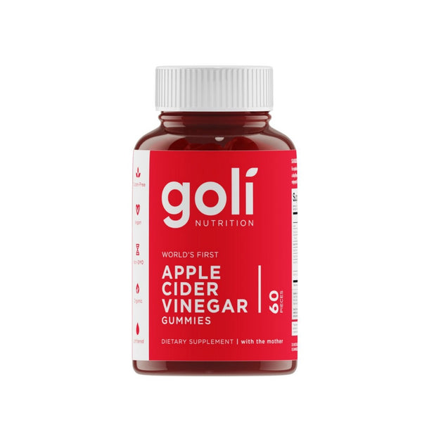 Goli Nutrition Apple Cider Vinegar Gummies 60pk