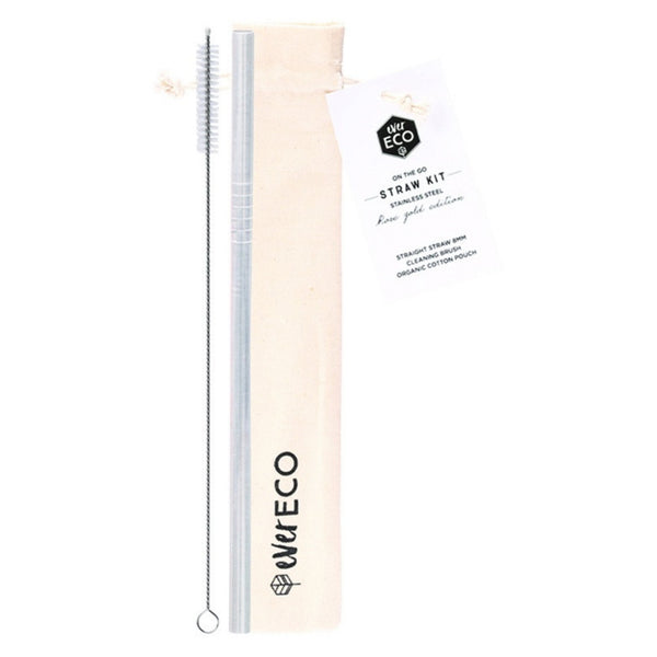 Ever Eco On The Go Straw Kit (Stainless Steel or Rose Gold)