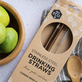 Ever Eco Stainless Steel Straws - Straight