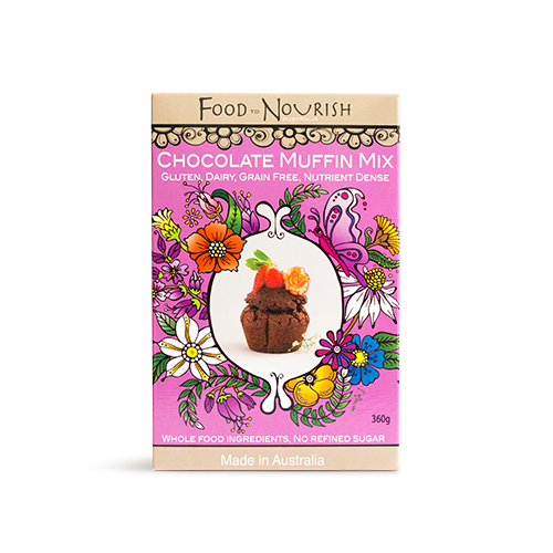 Food to Nourish Paleo Chocolate Muffin Mix 360g