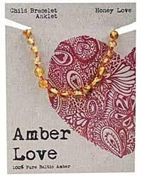 Amber Love Children's baltic amber bracelet/anklet