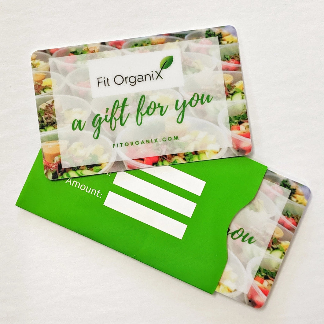 Fit Organix Gift Card