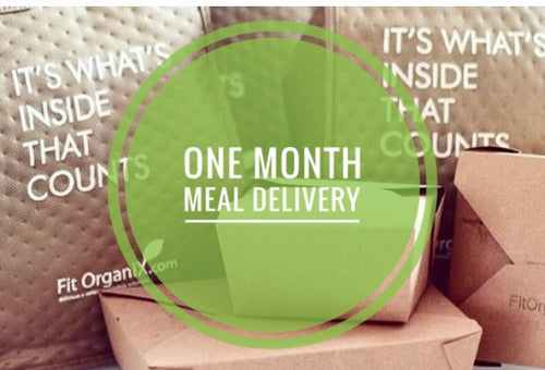 1 Month Fit Organix Meal Plan Subscription - New & Returning Client