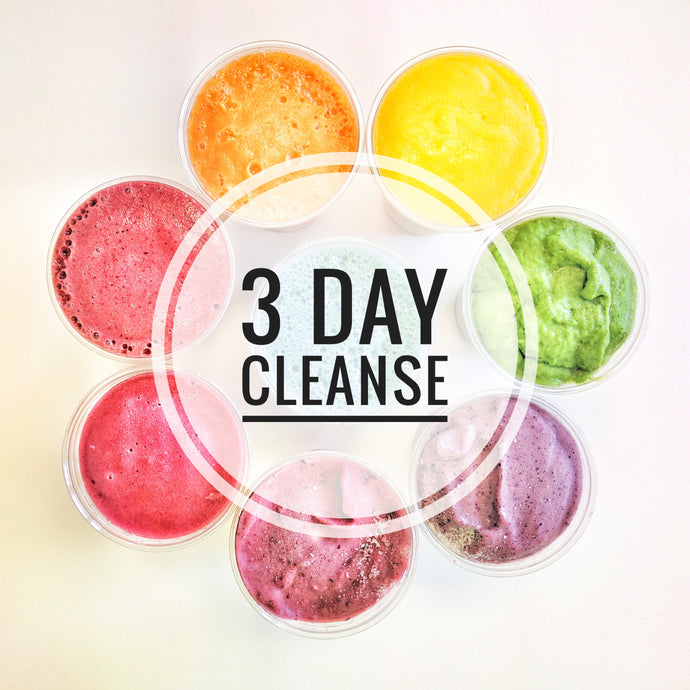 3 Day Fit Organix Cleanse ~ January 2, 3, 4, 2019