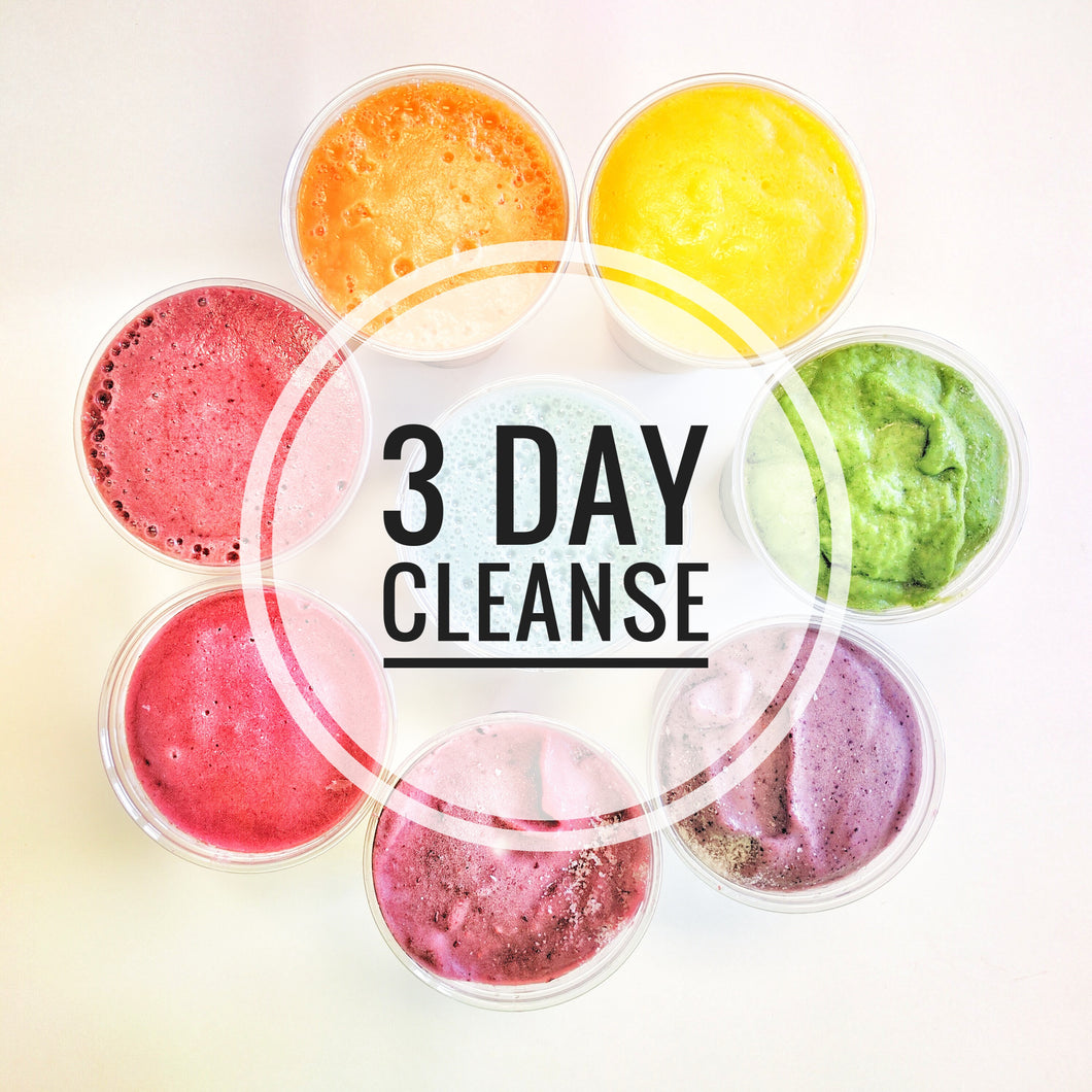3 Day Fit Organix Cleanse ~ May 22 - 24, 2018