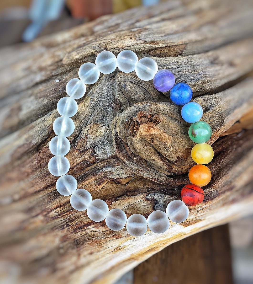 Chakra Mala Crystal Intention Bracelet