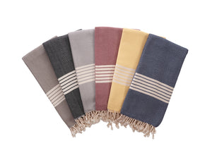 Honeycombed Stripe Towel