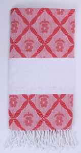 Jacquard Flower Towel