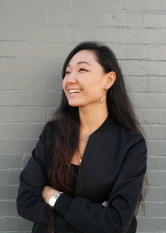 portrait of studio manager, Alice Son