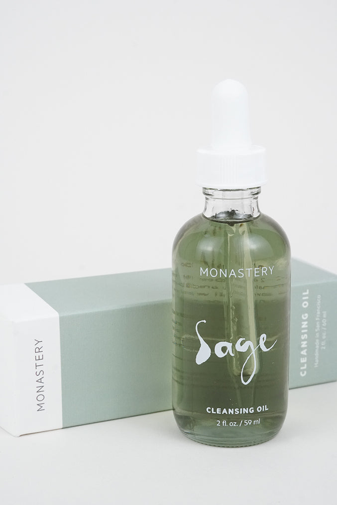 Sage Cleansing Oil by San Francisco brand Monastery at Crown Nine Oakland