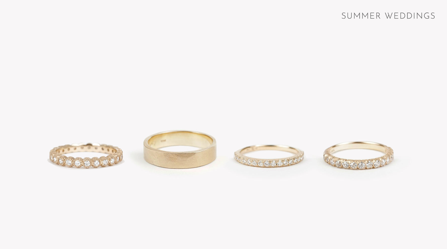 Wedding Bands by Kate Ellen Vow