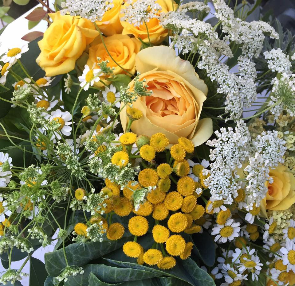 Yellow bouquet by Brother and Sister Flowers