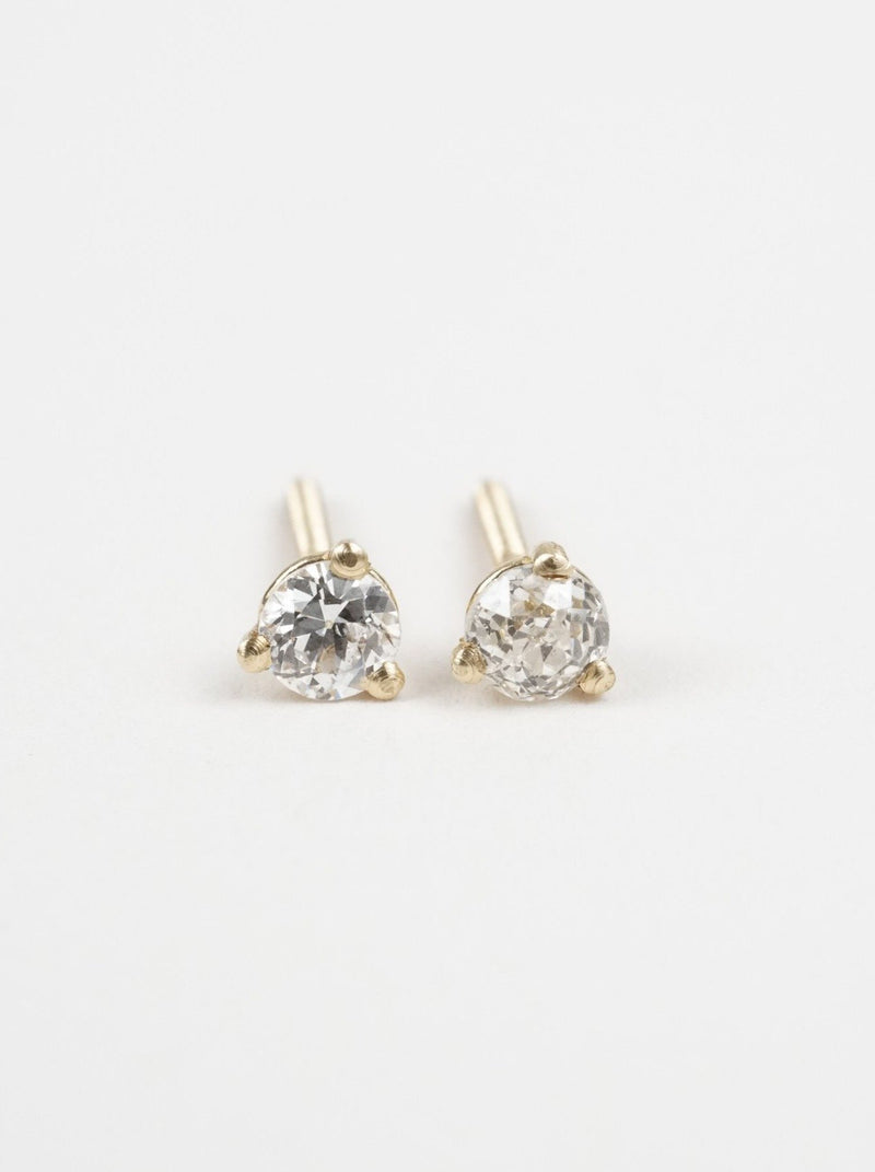 Shown: 3mm in 14k yellow gold.