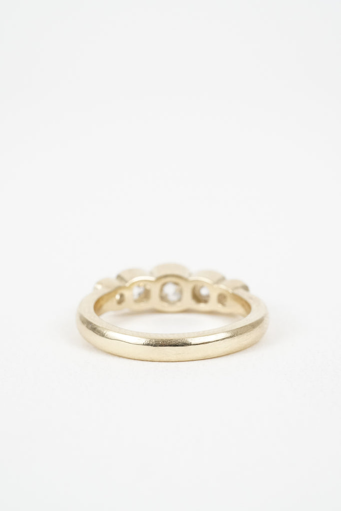 The Plumeria 5 stone ring by Kate Ellen