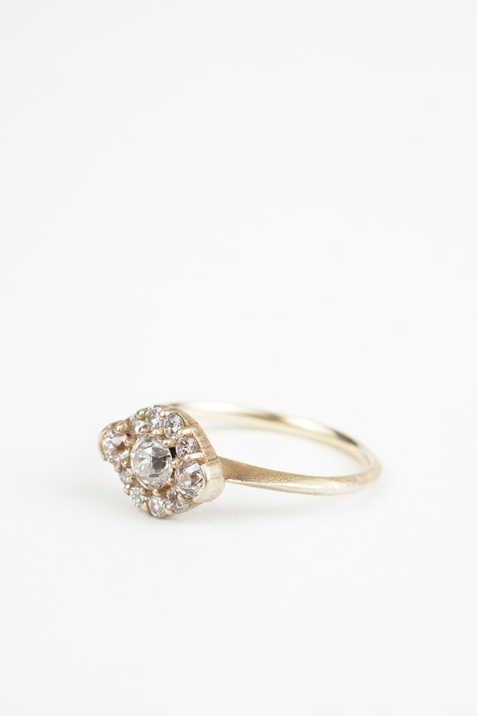 The Petite Meadow Engagement Ring By Kate Ellen