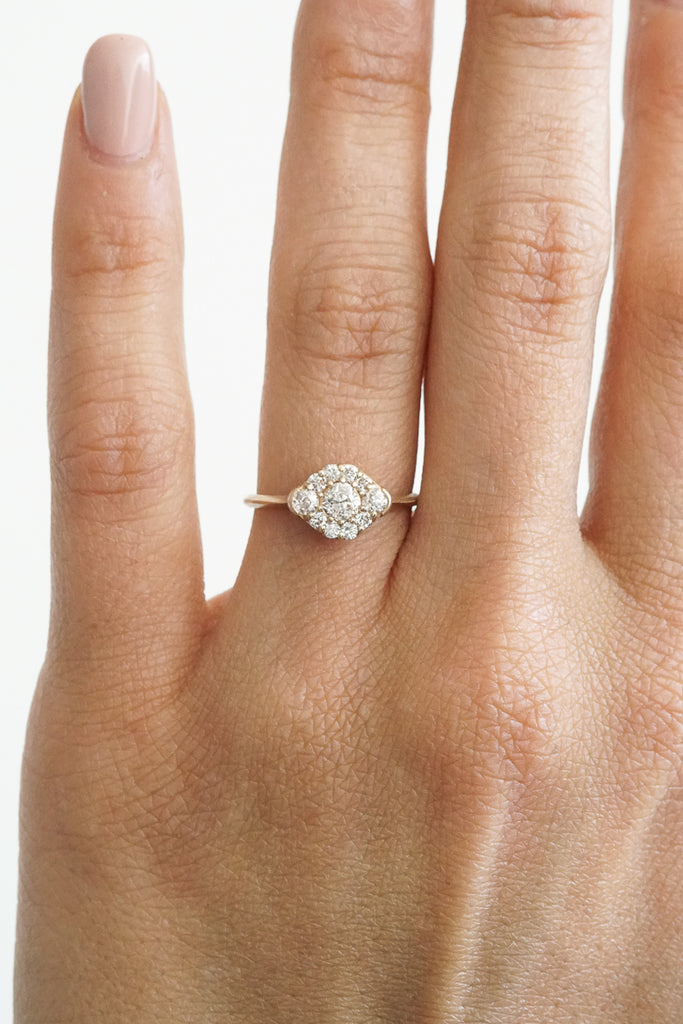 Petite Meadow Ring