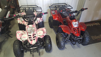 TaoTao Boulder B1 110cc ATV with Automatic Transmission, Remote Control Stop! Rear Rack!