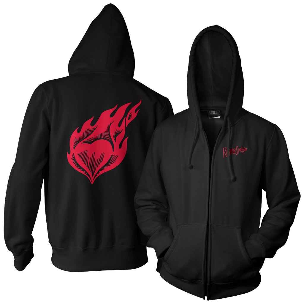 Heart on Fire Hoodie