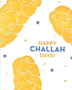 """Happy Challah-days"" Card"