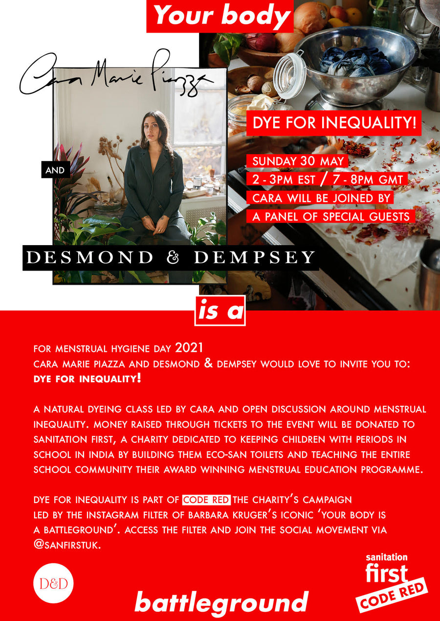 CODE RED : PIGMENT BOMB : DYE FOR INEQUALITY with Desmond & Dempsey , Sunday, May 30th.