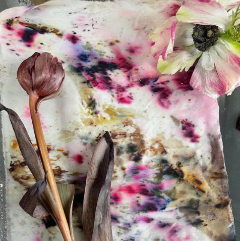 Floral Arranging and Bundle Dyeing with Olivee Floral : April 18th - 2:30pm EST