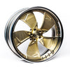 MAGNUM FORGED GETTY 24RL BRUSHED GOLD - 1