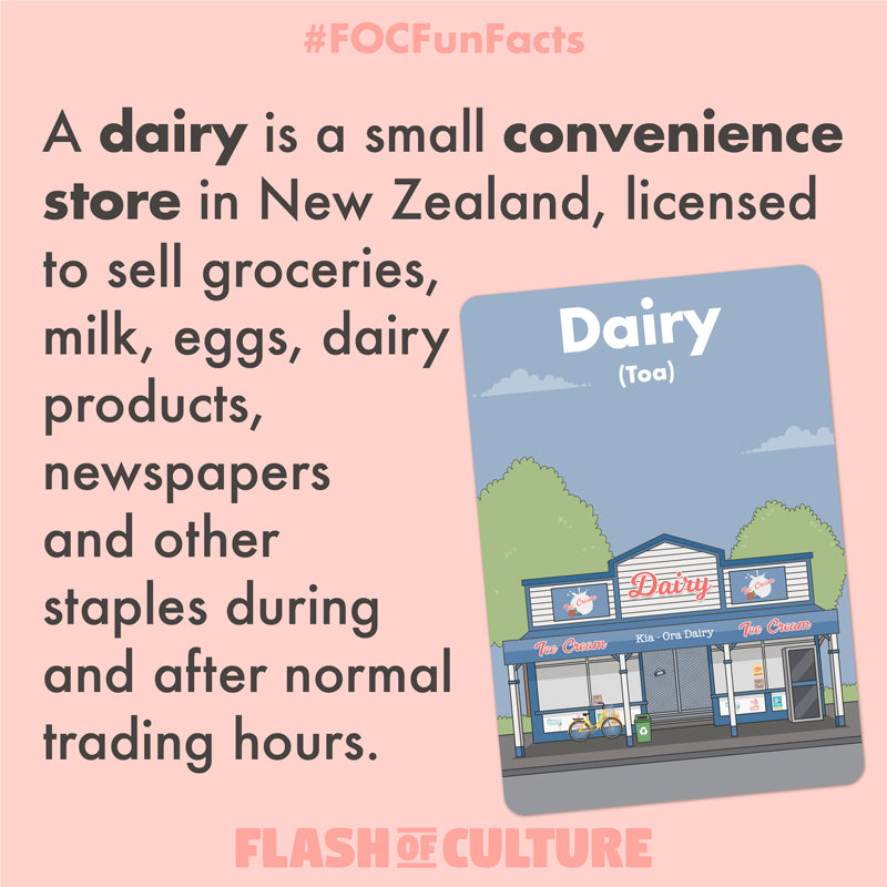 A dairy in New Zealand fun fact