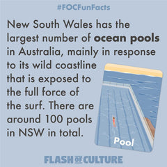 How many ocean pools are there in New South Wales?